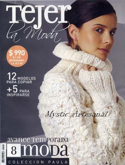 patrones de tejido a dos agujas « Revistas de labores